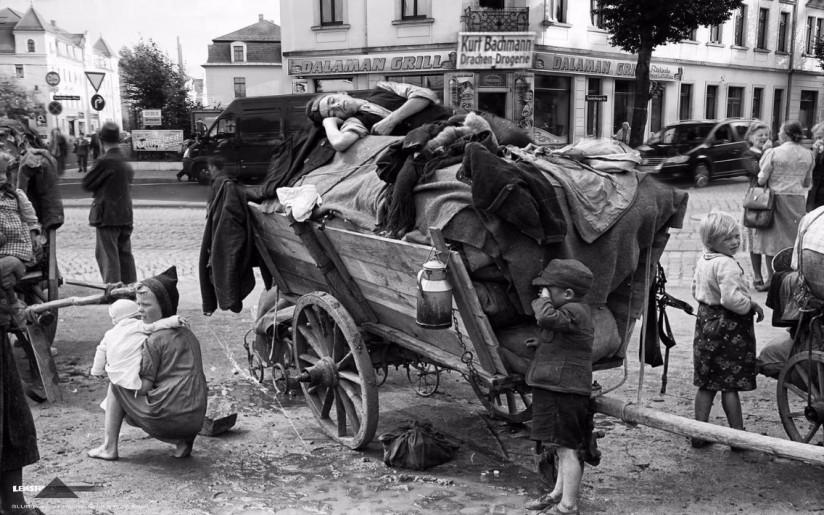 Trachenberger Platz 1945