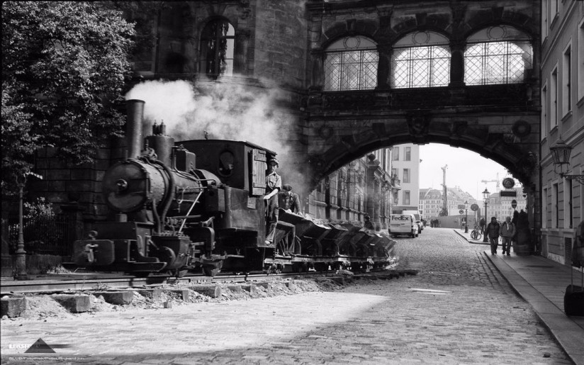 Die Trümmerbahn 1945