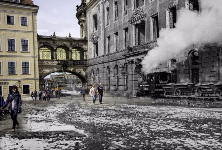 Trümmerbahn Dresden